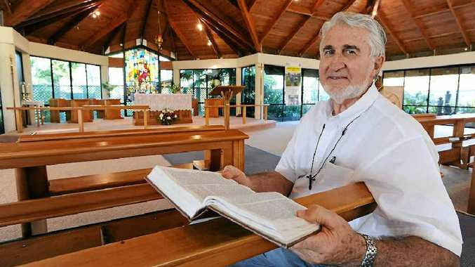Rev Robert Perry, acting rector at St. John's Anglican Church, says congregation sizes are growing.