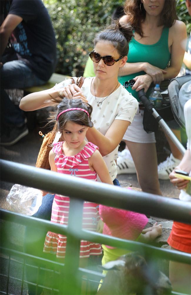Katie Holmes and her daughter Suri