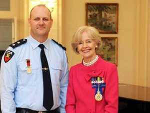 Highest award to ex-Gympie fireman