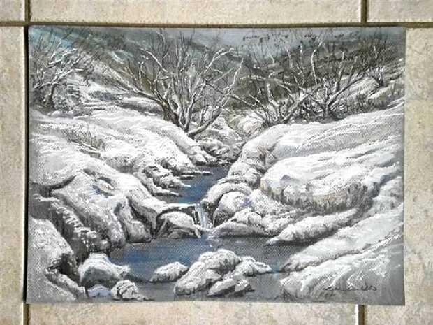 Gully Thaw by Lynne Corbett