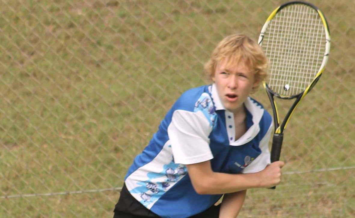 WHILE the weather was unfavourable on the weekend, it didn't stop fantastic tennis being played at the Junior Round Robin series in Cannonvale and Proserpine.