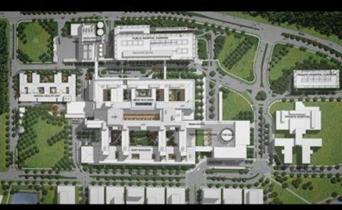 The planned Sunshine Coast University Hospital