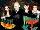 The Smashing Pumpkins, with lead singer Billy Corgan in the front.