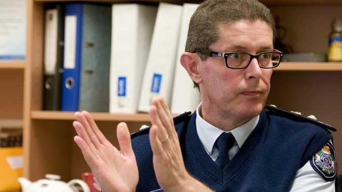 Toowoomba Police District Superintendent Matthew Vanderbyl.