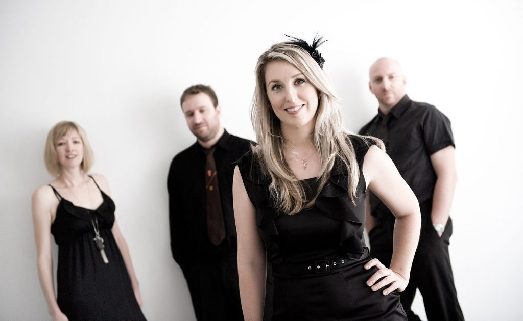 Sarah Colllyer and her band Elegance Jazz will perform will perform at the official Jumpers and Jazz opening tonight at the Warwick Art Gallery.