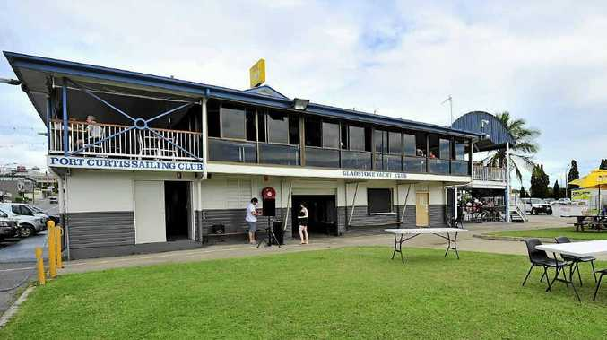 The Port Curtis Sailing Club on Auckland Creek, Gladstone.