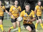 Caloundra captain Brad Ibbs looks for space against Caboolture last month.