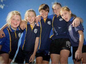 Kids relay for mountain festival