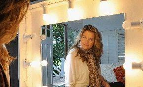 Make Up Artist Cassandra Hinley pictured at her Mullumbimby home.