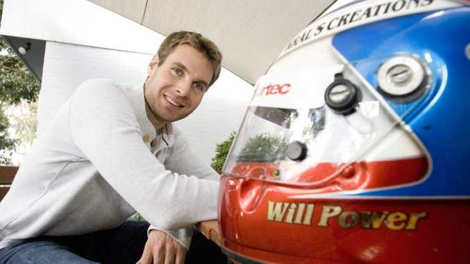 IndyCar driver Will Power at his childhood home in Toowoomba, Tuesday, 26 October 2010. Photo Kevin Farmer / The Chronicle