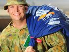 Former Nambour school student Sergeant Ross Bryan, 34, now delivers mail in Afghanistan.
