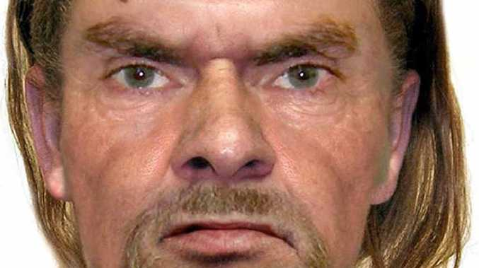 A computer generated image of the wanted man. Phone Gympie Police or Crime Stoppers on 1300 888 000 if you can help police with investigations.