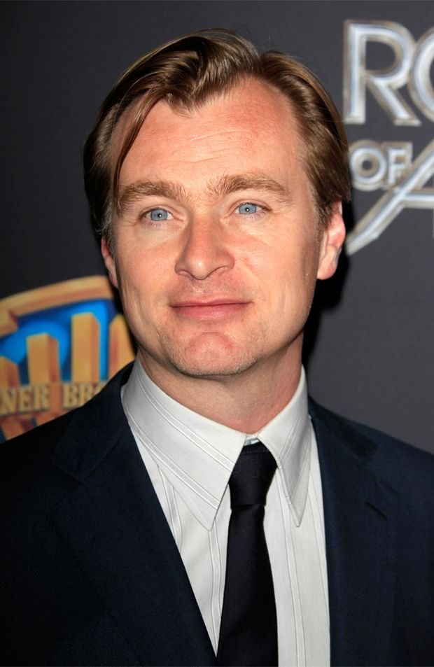 'The Dark Knight Rises' director Christopher Nolan.