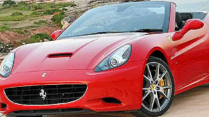 Ferrari California HELE has brilliant acceleration and cornering.