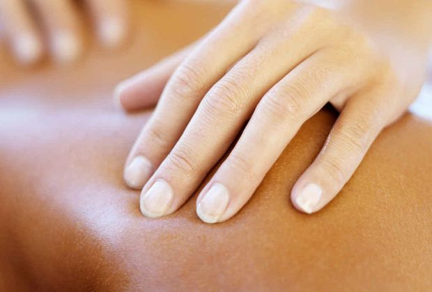 Massage has been shown to boost levels of feel-good hormones in your body.