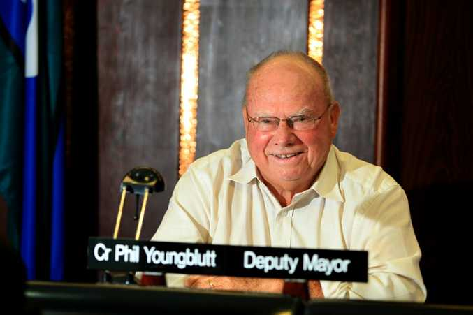 Cr Phil Youngblutt took the seventh and last seat on the Tweed Shire Council.