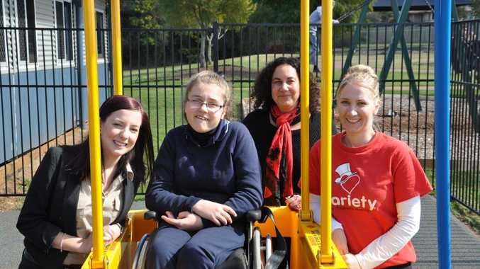 The installation of a new Variety Liberty Swing brought plenty of smiles to Clifford Park Special School.