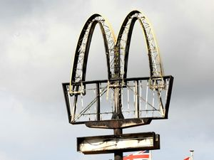 Golden arches get flame grilling