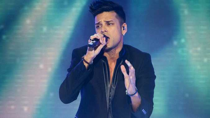 Andrew De Silva performs on the Australia's Got Talent grand final decider.