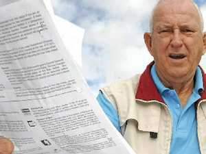 Retiree angry at rebate size