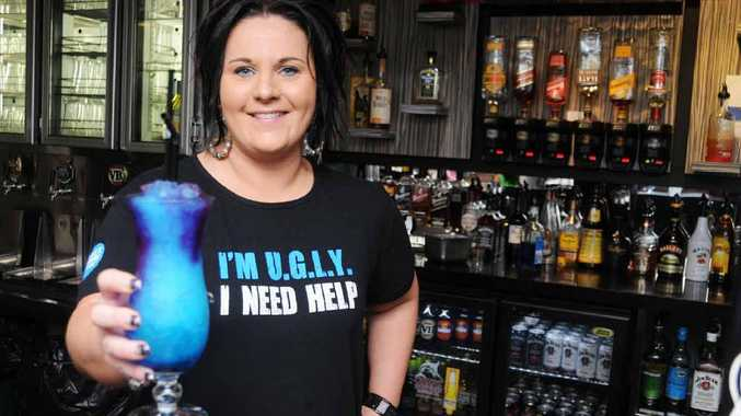 Leanne Buller is ready for the U.G.L.Y. bartending competition.