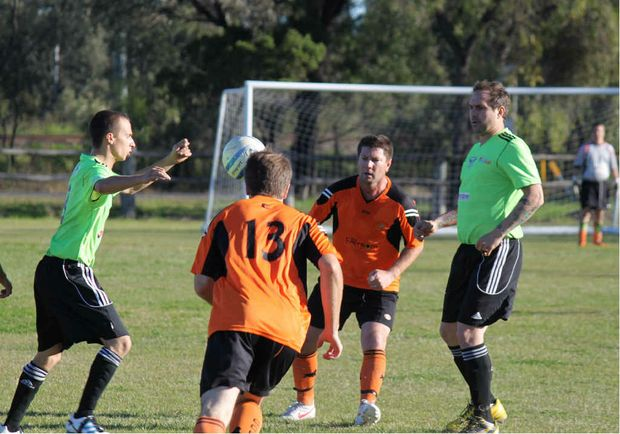 The Emerald Eagles had a slow start but came back to win 2-1 against the Capricorn Coast.