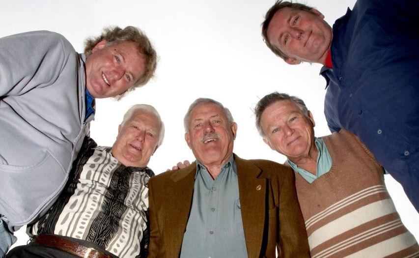 Tweed Men's Shed members (left to right) Michael Teitzel, Bill Trenear, Ron Broad, Alan Jones and Martin Kinross.