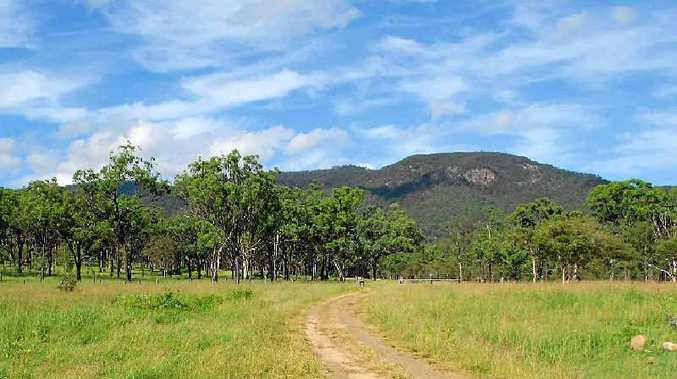 Mt Robert in the Boyne Valley.