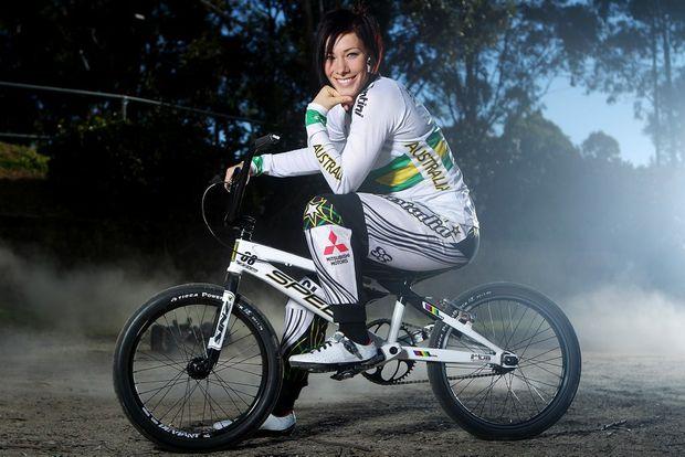 Caroline Buchanan, the world time trial champion.