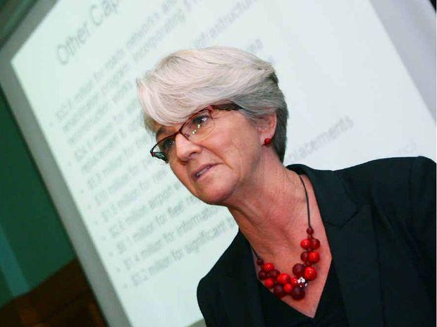 Rockhampton Mayor Margaret Strelow hands down the 2012/2013 council budget.