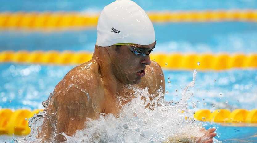 Christian Sprenger has won silver in the men's 100 metre breaststroke.