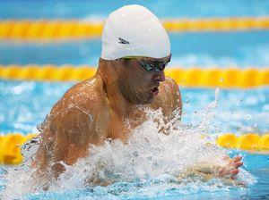 Silver swim stuns Sprenger