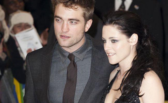 Robert Pattinson and Kristen Stewart