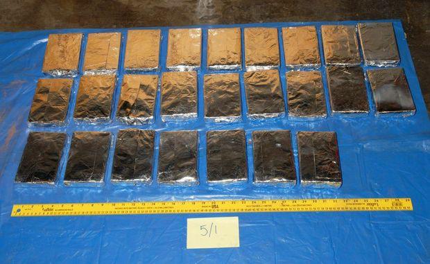 Drugs seized in Operation Serrata.