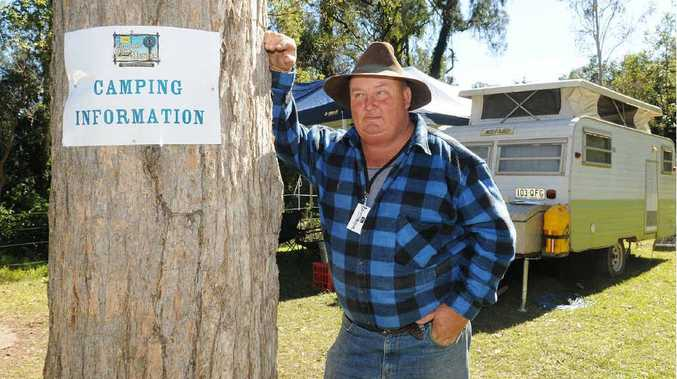 Alan Calvert is on board as the Muster groundsman this year to settle any camping disputes.