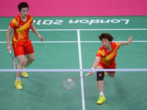 Badminton players disqualified