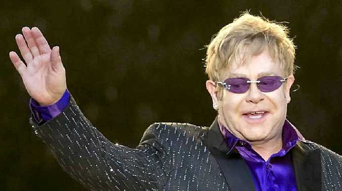 Sir Elton John will not be performing in Mackay.