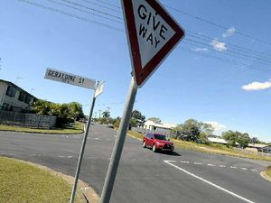 Traffic sign relocated to improve safety