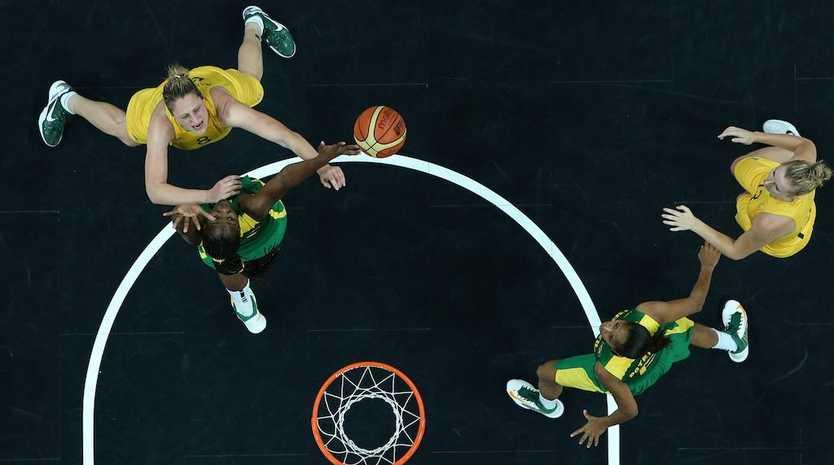 The Opals have beaten Brazil 67-61.