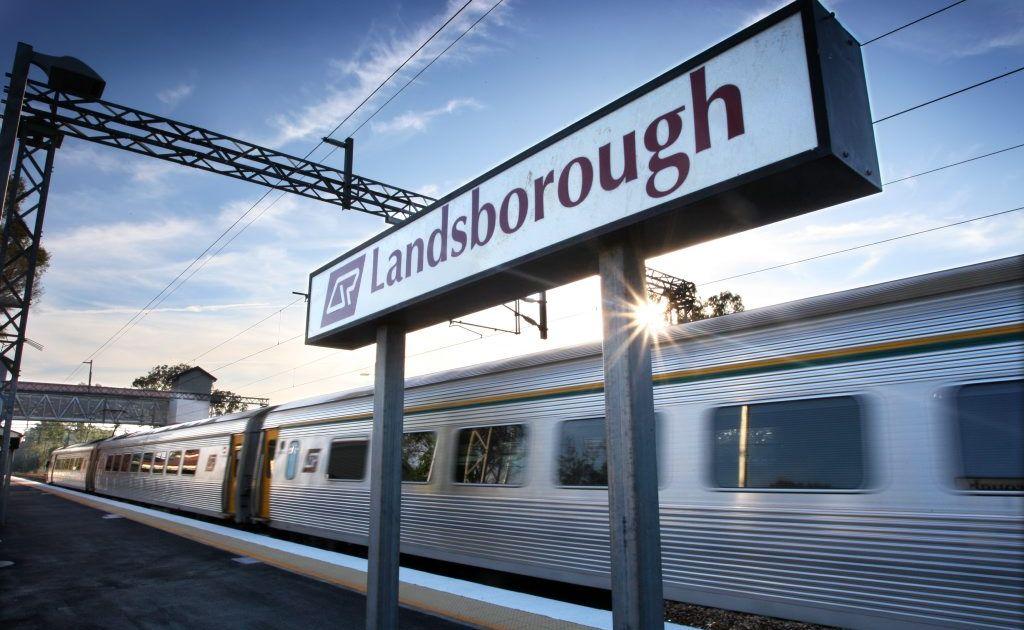 Landsborough train station.