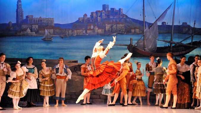 The Dancers Company performing Don Quixote.
