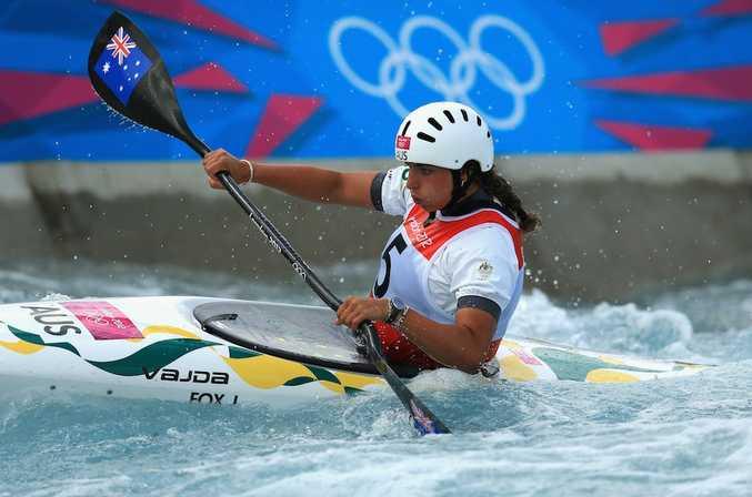 Jessica Fox has won silver in the women's kayak.