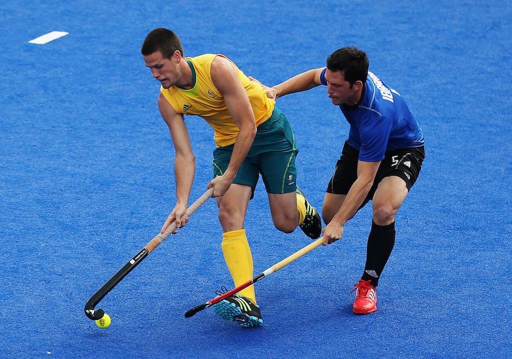 Australia has drawn 2-2 with Argentina.