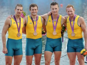 Australian rowers in the medals