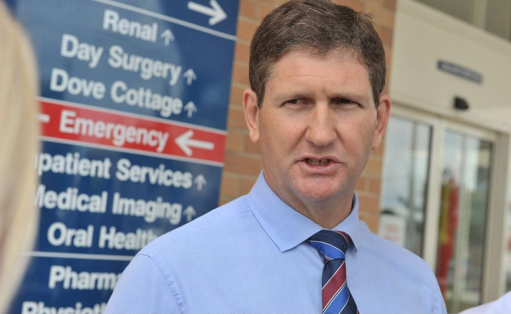 Health Minister Lawrence Springborg defended the controversial move and said the decision followed advice from an expert panel and former Barrett Centre patients.