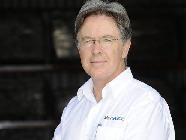 Metgasco managing director Peter Henderson.