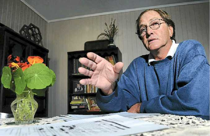 John Valuch says his teaching career has been ruined by students making false allegations against him.