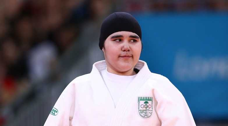 Wojdan Shaherkani has become one of the first female athlete to compete at the Olympics.
