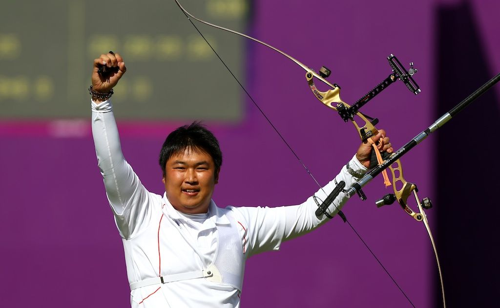 South Korea's Oh Jin-hyek survived a number of upsets to win gold.