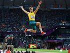 Henry Frayne jumped 7.95 metres.